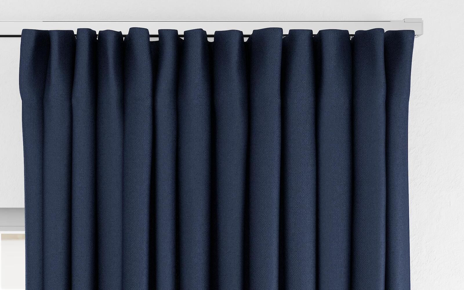 Photo of the fabric 10957-101 Nightshift Cobalt, by Zepel.